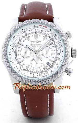 Breitling for Bentley - Silver Dial