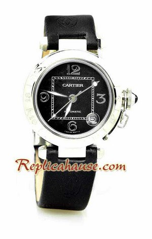 Cartier Pasha Ladies Replica Watch 01
