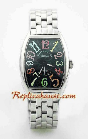 Franck Muller Crazy Color Dreams Swiss Watch 3