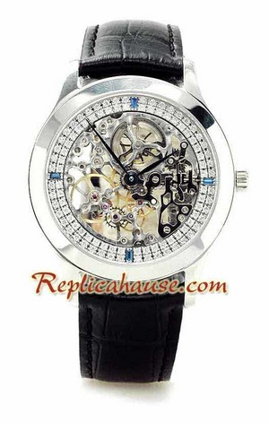 Jaeger LeCoultre Skeleton Swiss Replica Watch 2