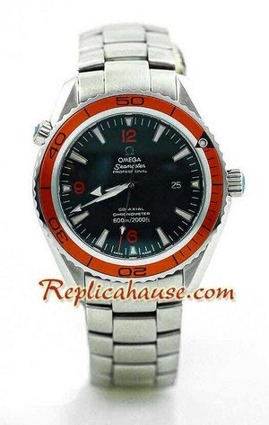 Omega SeaMaster - The Planet Ocean Swiss Watch 3