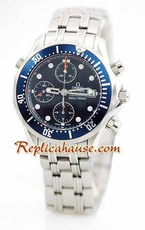 Omega Seamaster Professional Swiss Replica Watch 10