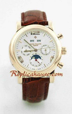 Patek Philippe Grand Complications Swiss Watch 8