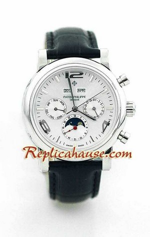 Patek Philippe Grand Complications Swiss Watch 9