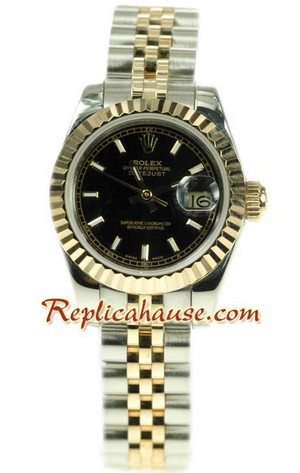 Rolex Replica Datejust Two Tone Ladies Watch 41