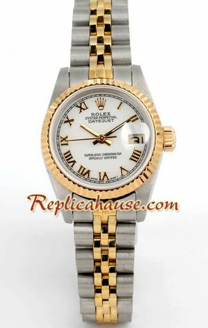 Rolex Replica Swiss Datejust Ladies Watch 17