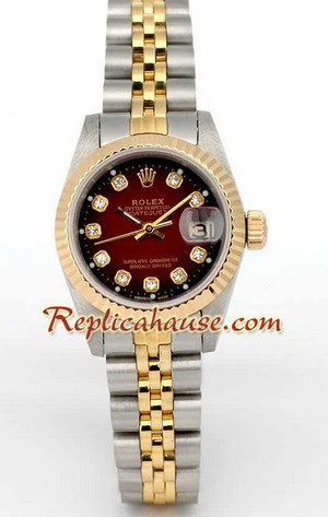 Rolex Replica Swiss Datejust Ladies Watch 19