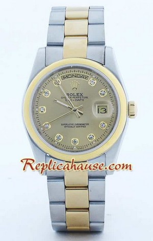 Rolex Day Date Two Tone - 2