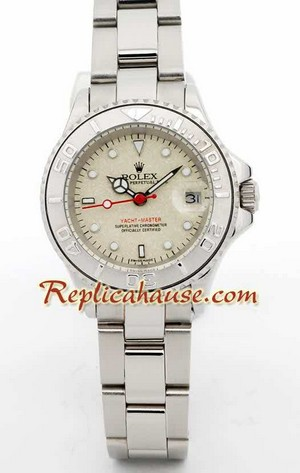 Rolex Yachtmaster Beige Face 3