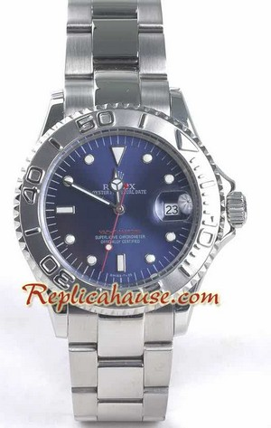 Rolex Yachtmaster Blue Face
