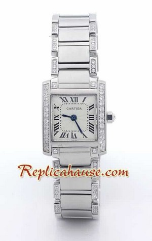 Cartier Tank Francise Swiss - Ladies